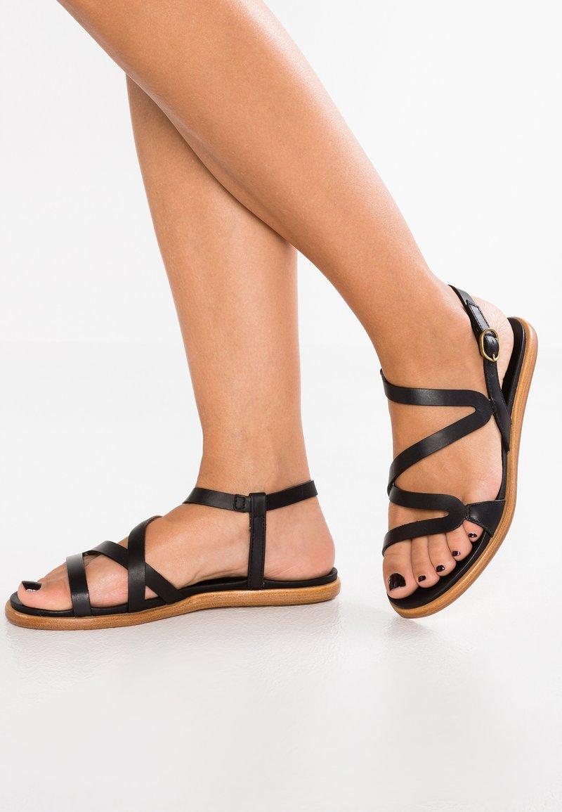 Neosens - AURORA - Sandaalit nilkkaremmillä - ebony