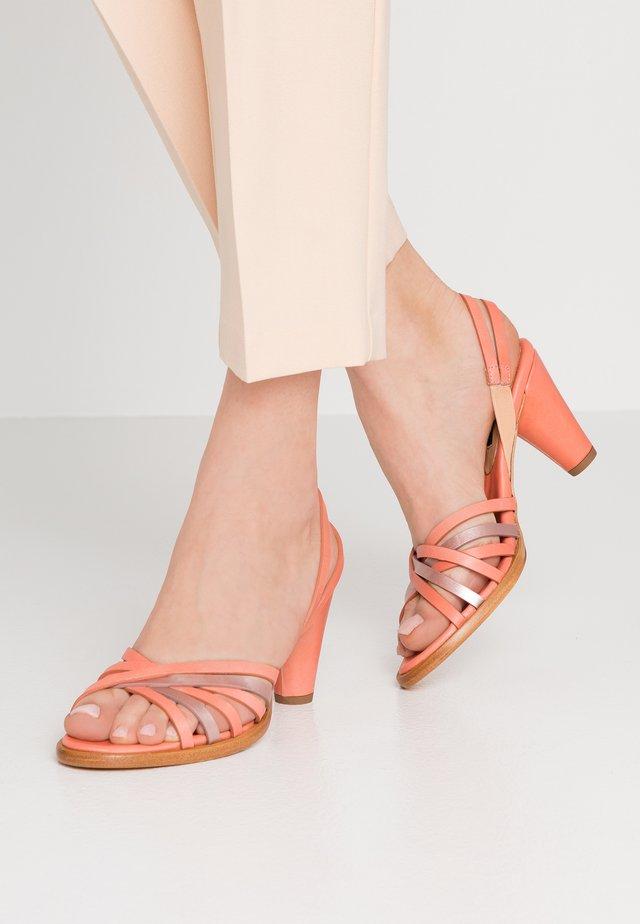 MONTUA - Højhælede sandaletter / Højhælede sandaler - salmon