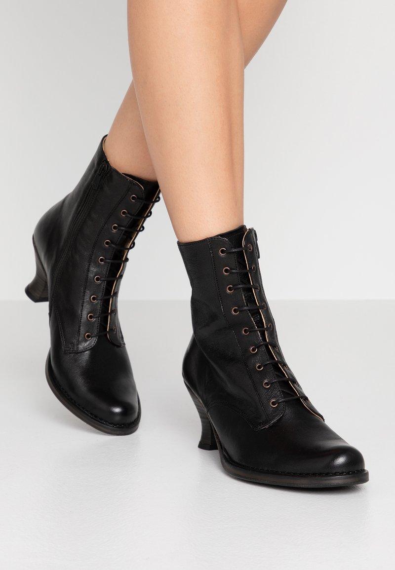 Neosens - ROCOCO - Lace-up ankle boots - dakota black