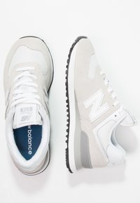 New Balance - WL574 - Sneakers basse - white - 3