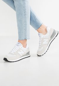 New Balance - WL574 - Sneakers basse - white - 0