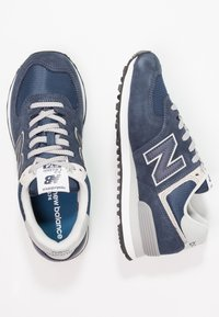 New Balance - WL574 - Baskets basses - navy - 2
