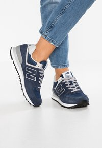 New Balance - WL574 - Sneakers basse - navy - 0