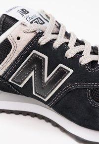 New Balance - WL574 - Baskets basses - black - 6