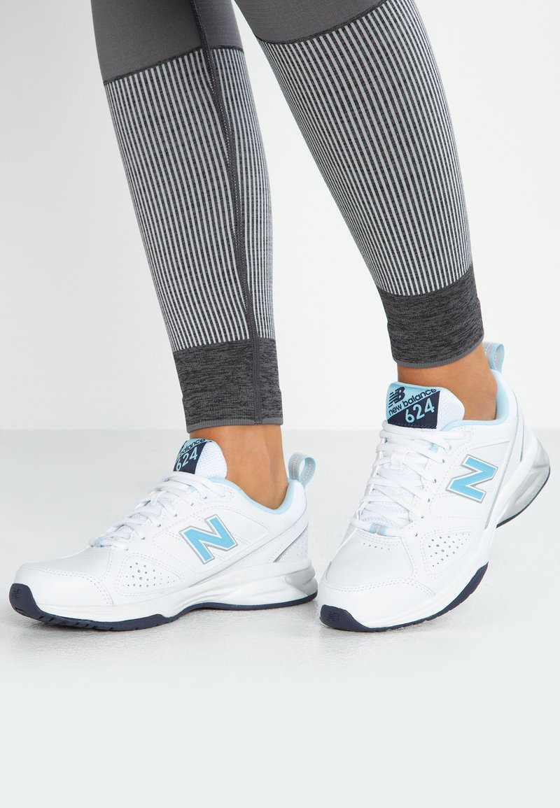 New Balance - WX624 - Trainers - white/blue