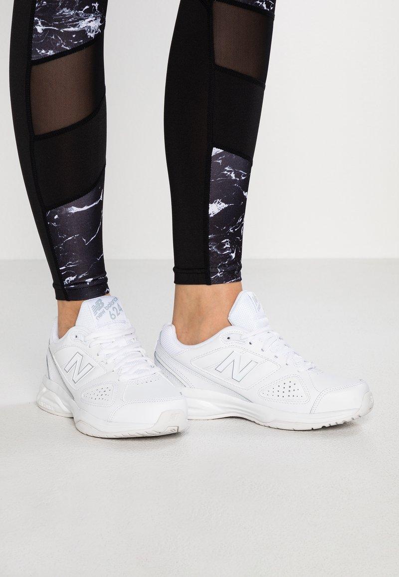 New Balance - WX624 - Sneakers basse - white