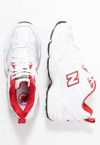 New Balance - Sneakersy niskie - white/red - 3