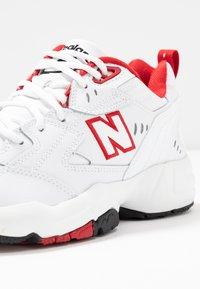 New Balance - Sneakersy niskie - white/red - 2
