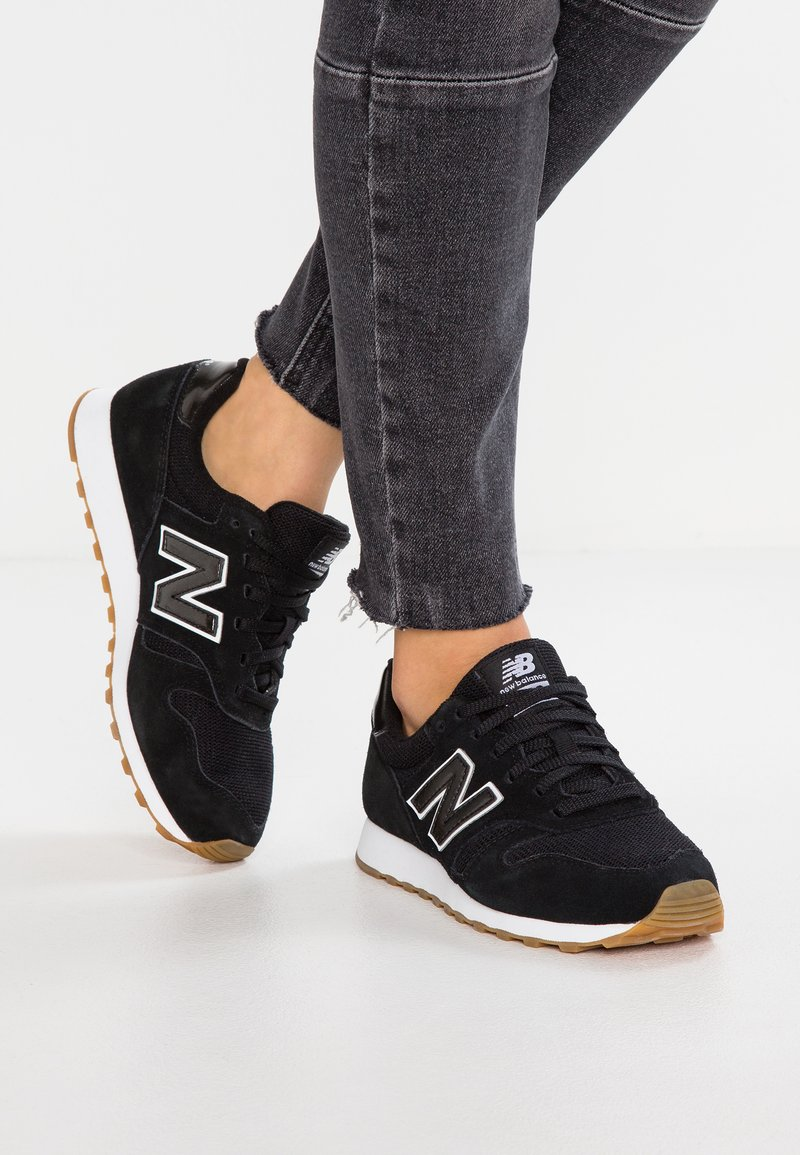 New Balance - WL373 - Sneakers laag - black/white