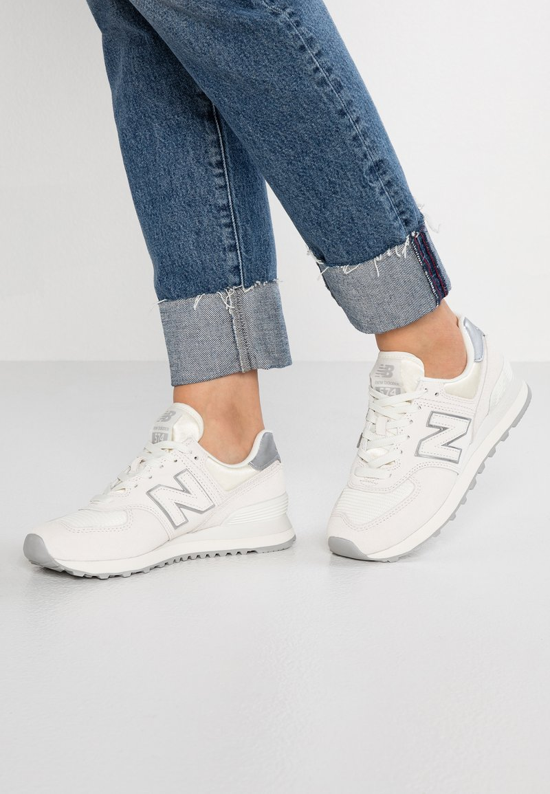 New Balance - WL574 - Sneakers laag - sea salt