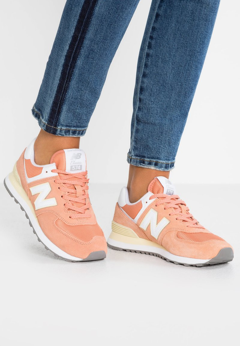 New Balance - WL574 - Trainers - faded copper