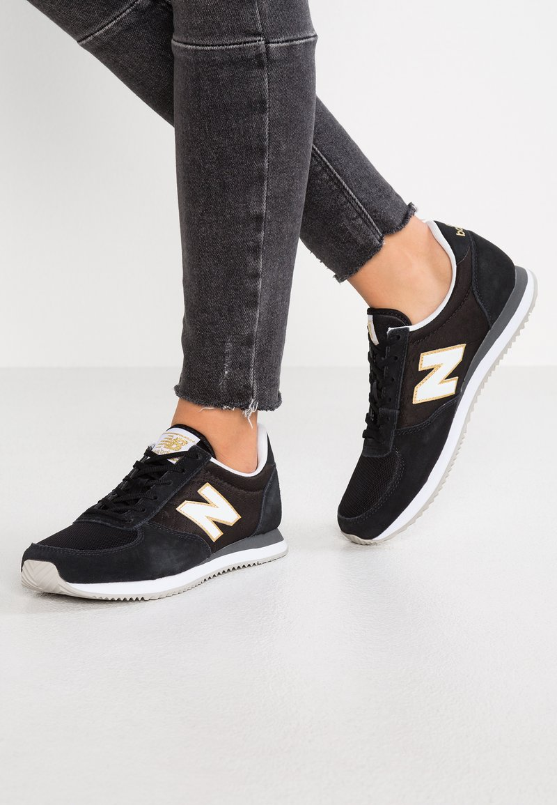 New Balance - WL220 - Sneakers basse - black/white
