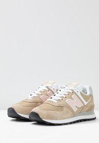 New Balance - WL574 - Trainers - hemp - 4