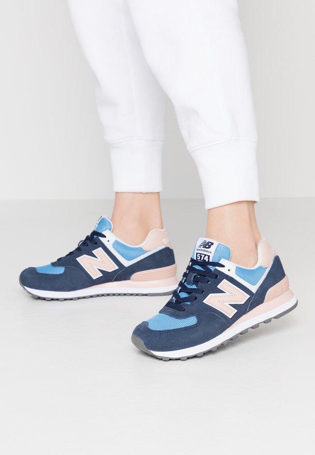 WL574 - Sneakers laag - navy/pink