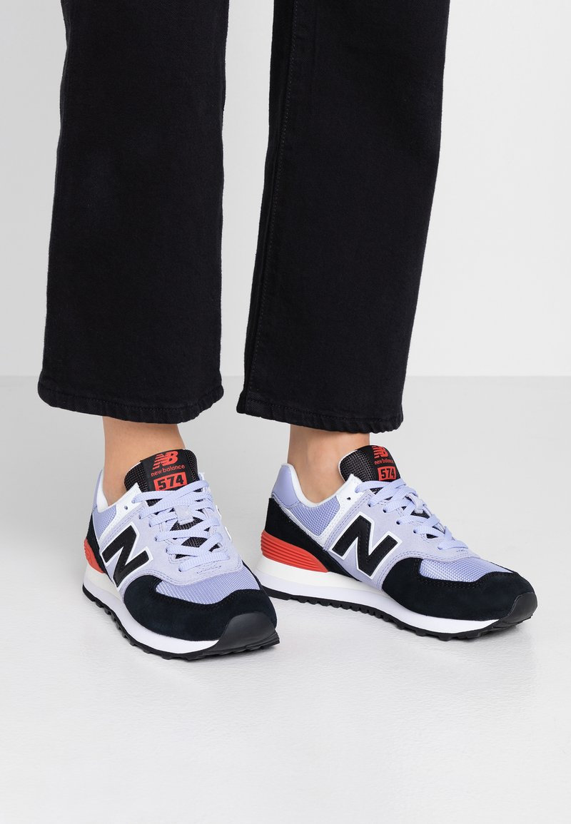 New Balance - WL574 - Sneakers laag - purple