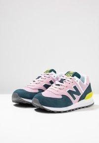 New Balance - WL574 - Zapatillas - pink/blue - 4