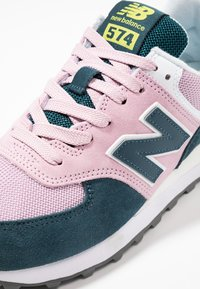 New Balance - WL574 - Zapatillas - pink/blue - 2