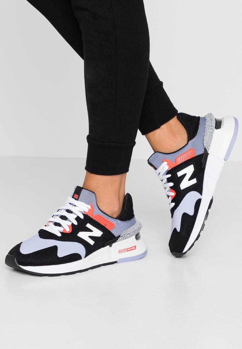 New Balance - Sneakers - black/purple