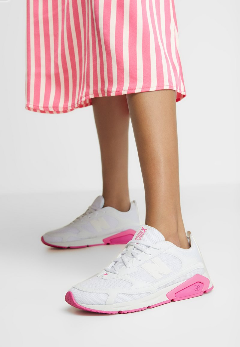 New Balance - X-RACER  - Sneakers laag - white/grey