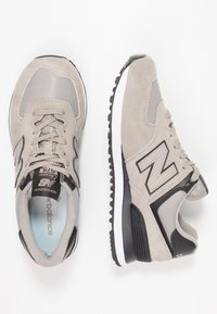 New Balance - WL574 - Zapatillas - grey/black - 3