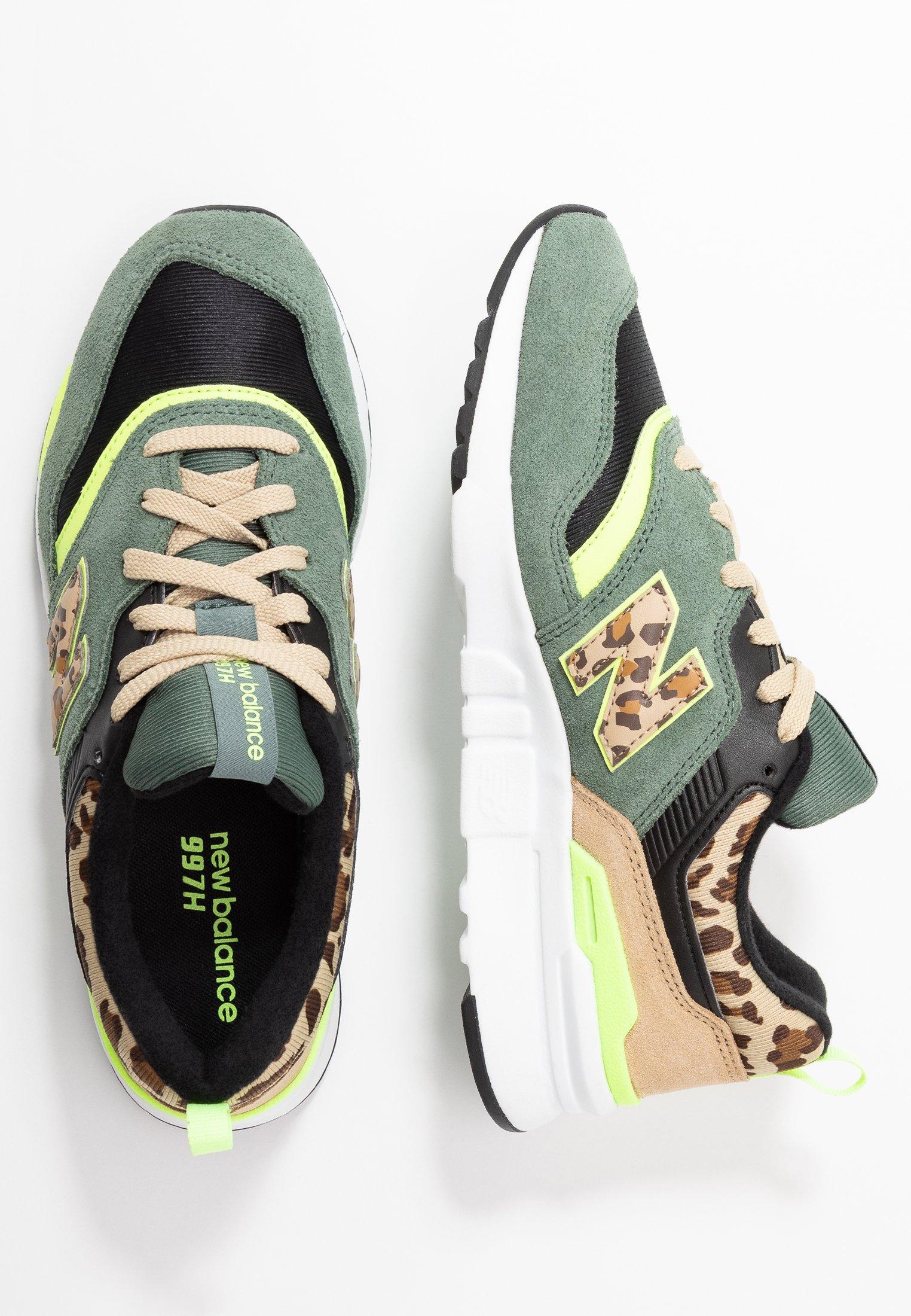 CW997 - Sneakers laag - green
