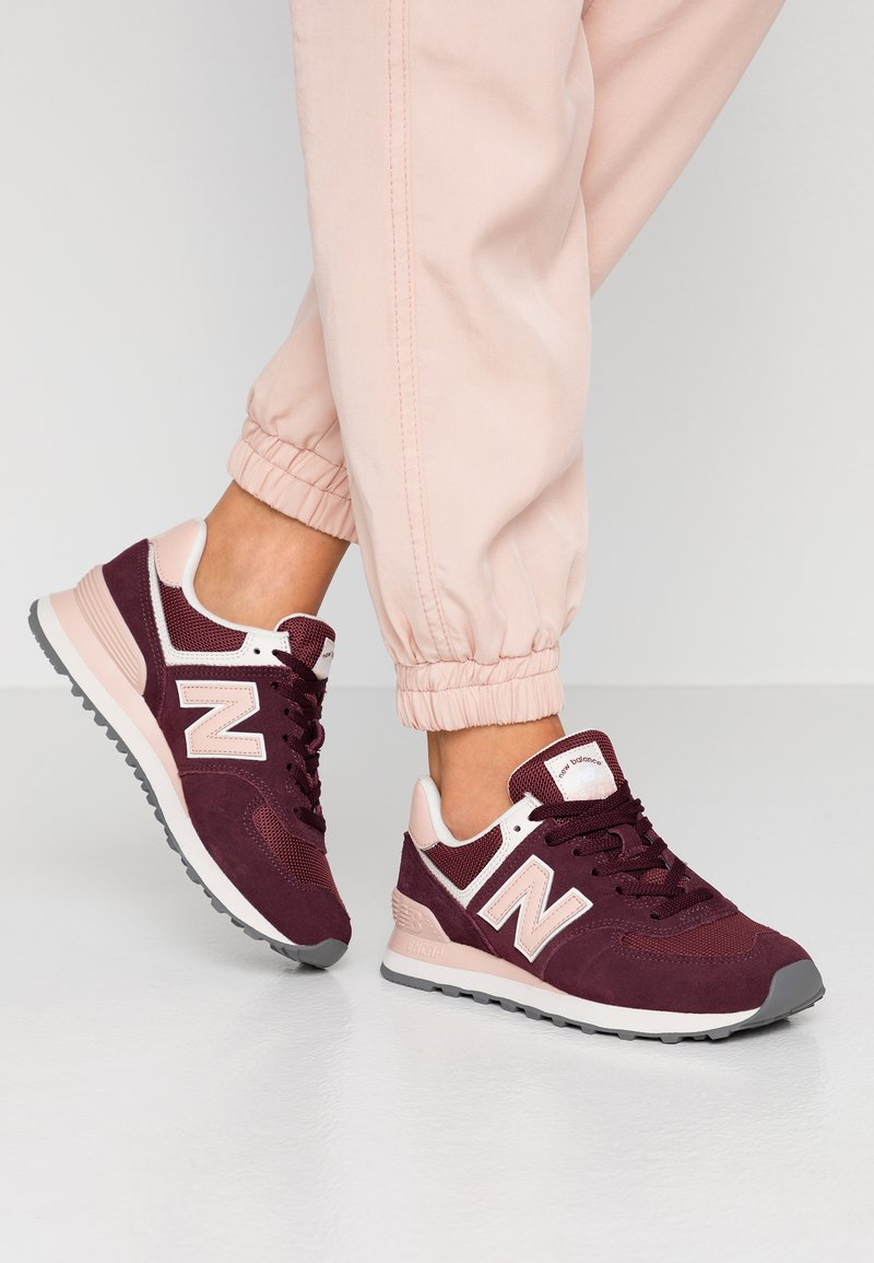 New Balance - 574 - Sneakers laag - red