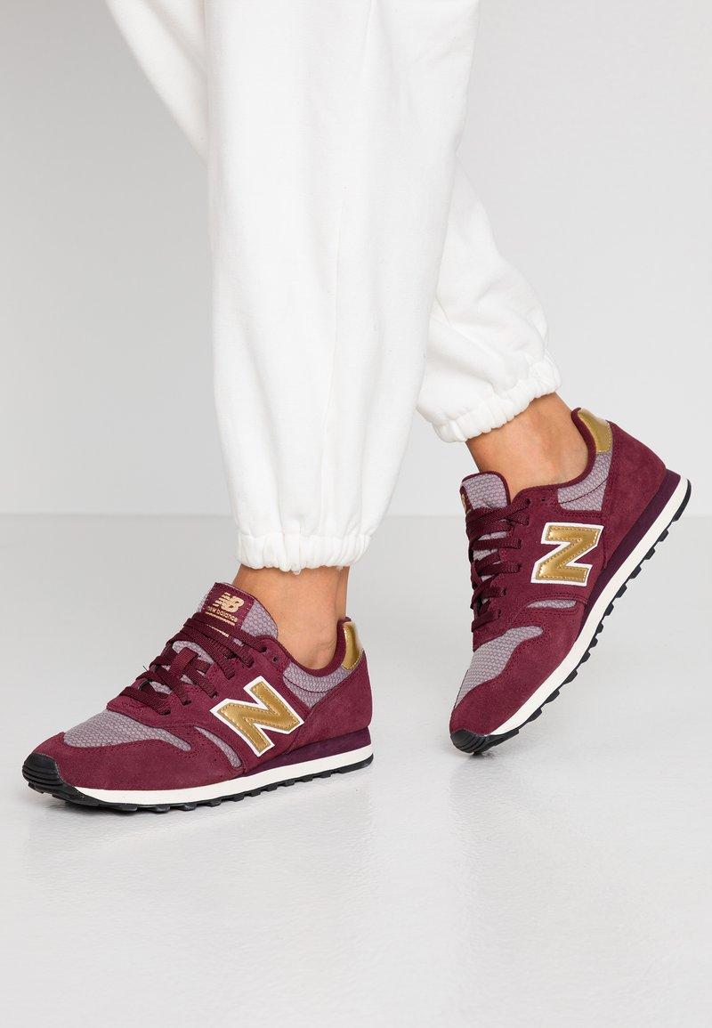 New Balance - 373 - Zapatillas - red/yellow