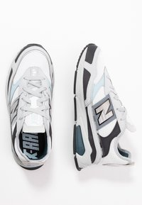 New Balance - X-RACER - Sneakers basse - grey/black/white - 5