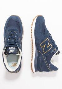 New Balance - WL574 - Sneakersy niskie - navy - 3