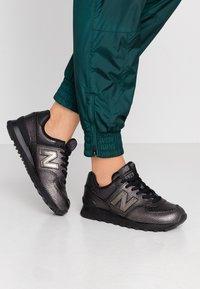 New Balance - WL574 - Zapatillas - black - 0