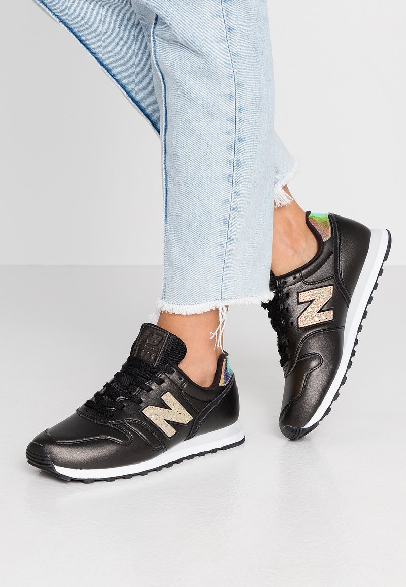 New Balance - WL373 - Zapatillas - black/white