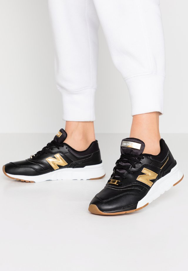 CW997 - Sneakers laag - black/yellow