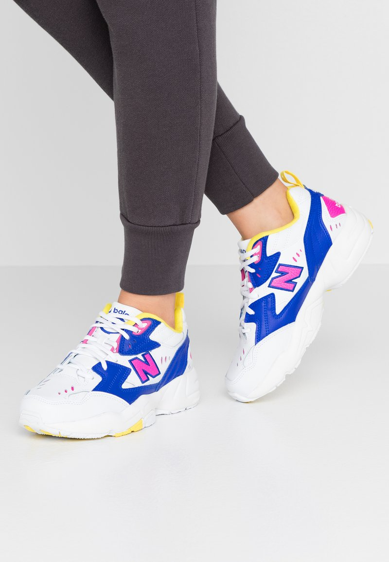 New Balance - WX608 - Sneakers - white/blue/pink