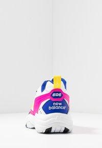 New Balance - WX608 - Trainers - white/black/pink - 5