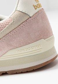 New Balance - WL996 - Matalavartiset tennarit - smoked salt - 2
