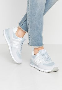 New Balance - WL574 - Trainers - grey/white - 0
