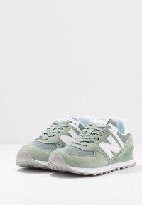 New Balance - WL574 - Sneakers basse - green - 4