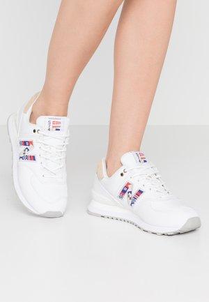 WL574 - Sneakersy niskie - white