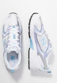 New Balance - MR530 - Sneaker low - white/purple/light blue - 1