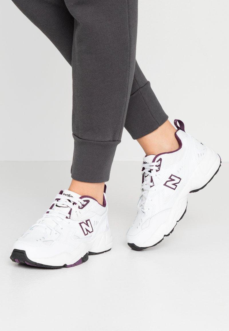 New Balance - WX608 - Trainers - white/purple