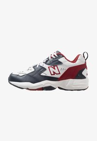 New Balance - Tenisky - outerspace/scarlet - 0