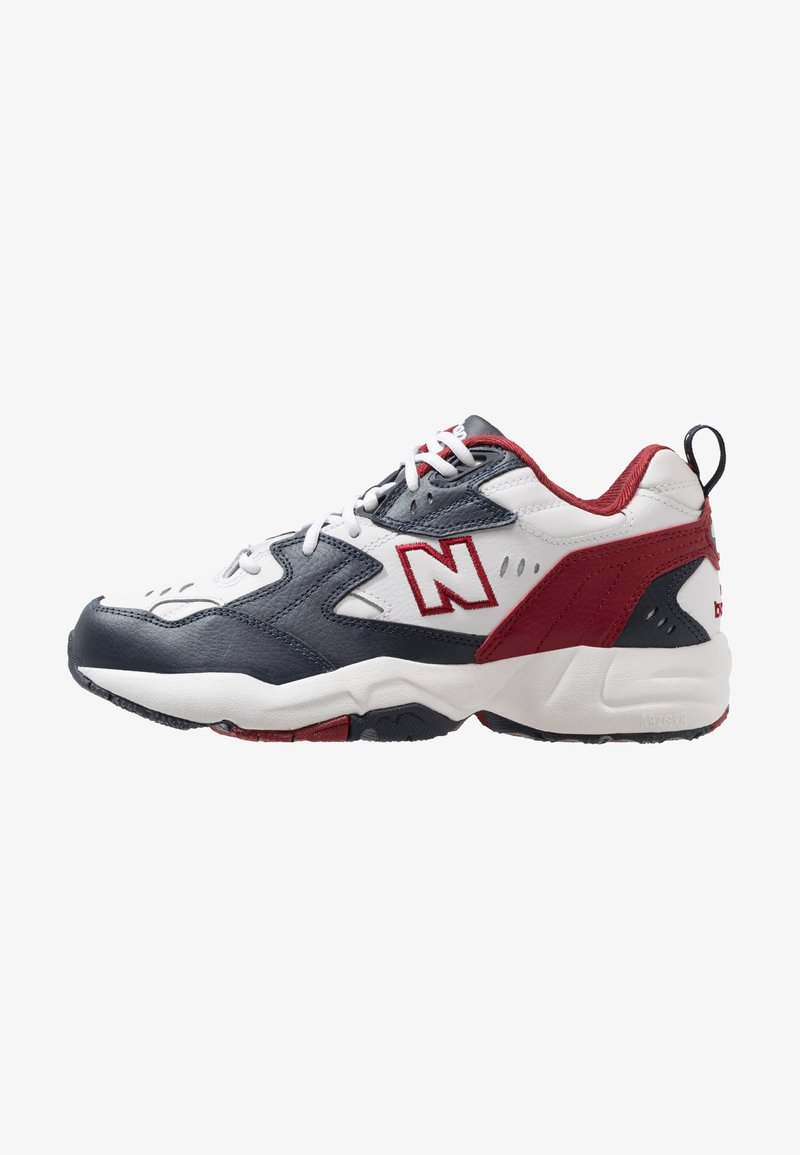 New Balance - Tenisky - outerspace/scarlet