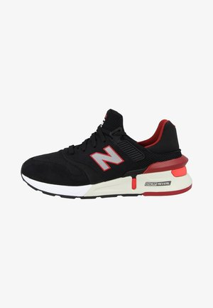Trainers - black/red