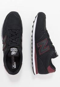 New Balance - GM500 - Sneakers laag - black - 1