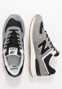 New Balance - Sneakers laag - black/grey - 1