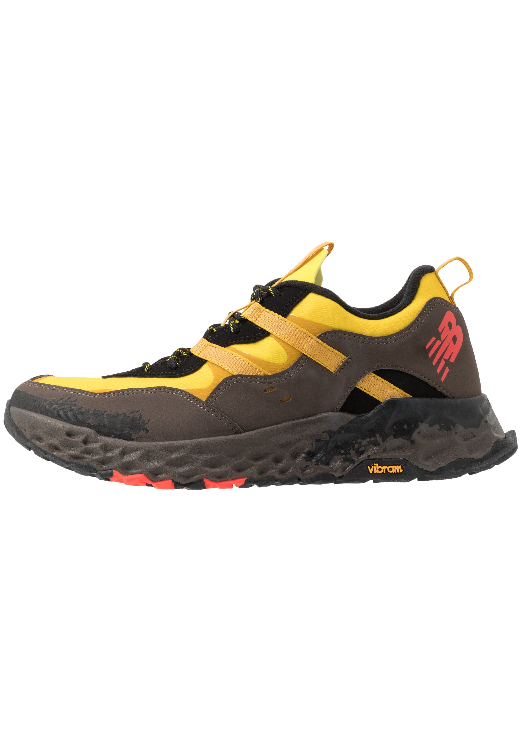 850 - Sneakers laag - yellow/black