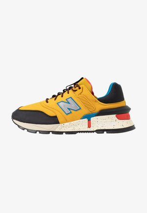 997 S - Baskets basses - yellow/black