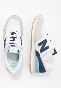 New Balance - 574 - Sneakers basse - grey/navy - 1