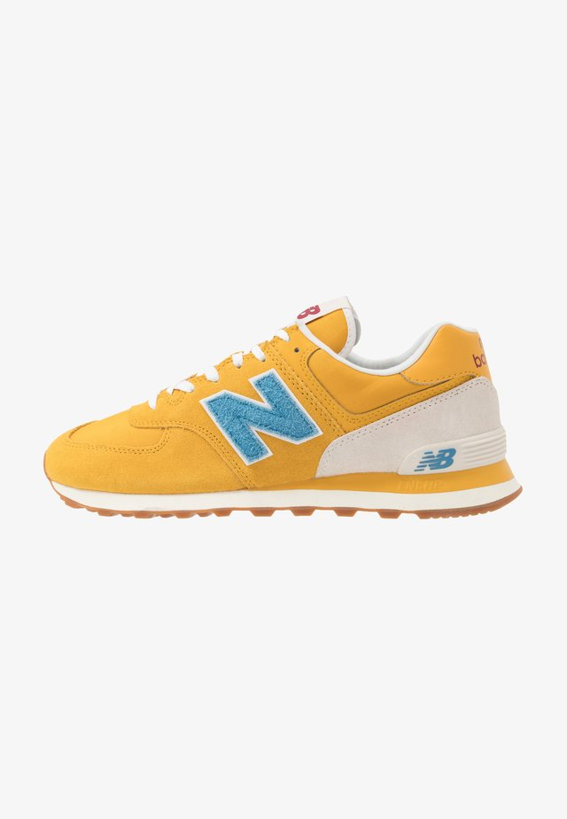 574 - Trainers - blue/yellow
