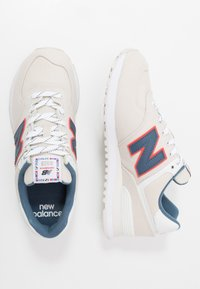New Balance - 574 - Sneakers basse - grey/white - 1